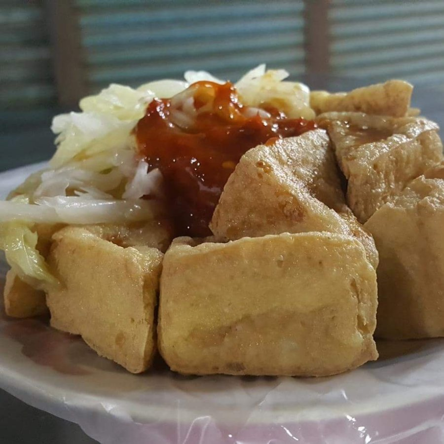 What makes stinky tofu stinky?